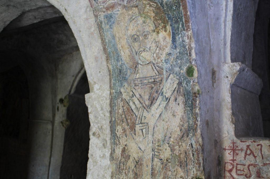affreschi da visitare chiesa rupestre san nicola